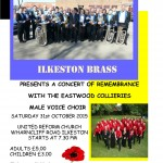 Concert of Remembrance with Ilkeston Brass raised £600!
