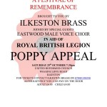 Festival of Remembrance - ECMVC with Ilkeston Brass